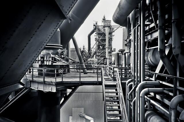 ברז בקרה בתעשייה